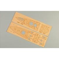 Деревяная палуба с анкерной цепью CY350004 для 80606 принц Уэльский 1/350