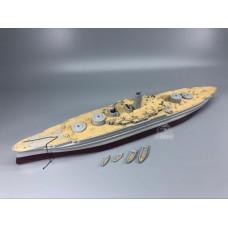 Деревяная палуба с анкерной цепью CY350046 для 86501 Аризона BB-39 1/350