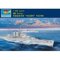 """Сборная модель 1:350 TRUMPETER 05350 Британский тяжелый крейсер """"Эксетер"""""""