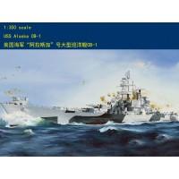 Сборная модель 1/350 HOBBY BOSS 86513 американський крейсер ВМС США USS ALASKA CB-1