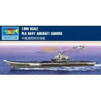 """Сборная модель 1/350 Trumpeter 05617 авианосец Китайских ВМС """"Ляонин"""""""
