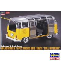 "Сборная модель 1:24 Hasegawa 51048 collectors' Hi-Grade Series микроавтобус Volkswagen Type 2 (1963) ""Full Interior"""