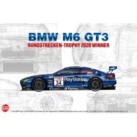 Сборная модель 1/24 NuNu PN24027 BMW M6 GT3 RUNDSTRECKEN-TROHY 2020 WINNER
