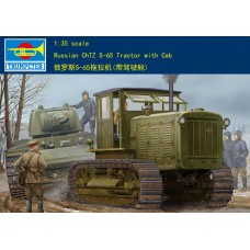 Сборная модель Trumpeter Russian ChTZ S-65 Tractor with Cab (05539) 1:35