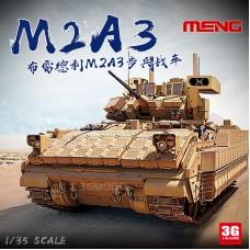 Сборная модель 1:35 Meng SS-004 США боевой автомобиль M2A3 Bradley w/BUSK III