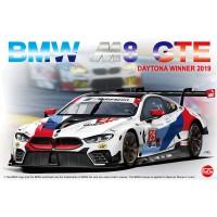 Сборная модель 1/24 NuNu PN24010 BMW M8 GTE 2019 Daytona Winner