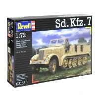 Сборная модель 1:72 полугусеничного тягача 03186 Revell Sd.Kfz. 7