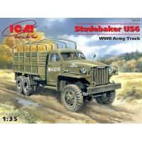 Сборная модель 1:35 ICM 35511 Армейский грузовик Studebaker US6