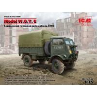 Сборная модель 1:35 ICM 35590 W.O.T. 8 Британский грузовой автомобиль II МВ
