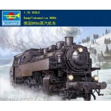 Сборная модель 00217 Trumpeter 1/35 Dampflokomotive BR86