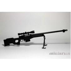 Модель снайперской винтовки L96A1/AWP