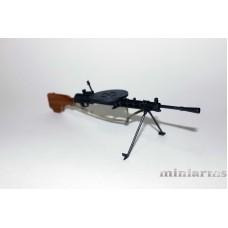 Модель ручного пулемета ДП (обр.1927)