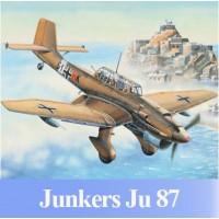 Сборная модель TRUMPETER 03216 1:32 немецкий бомбардировщик Ju-87R Stuka