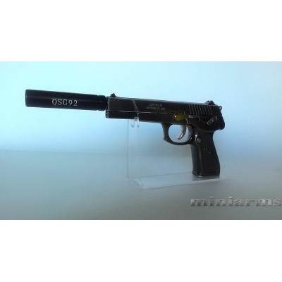 Модель  пистолета QSZ92-9