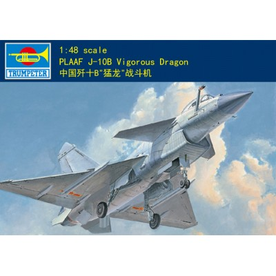 Китайский истребитель J-10B Vigorous Dragon