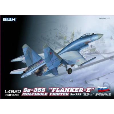 """Сборная модель Great Wall Hobby L4820 (1:48) российский истребитель Су-35С """"Flanker-E"""""""