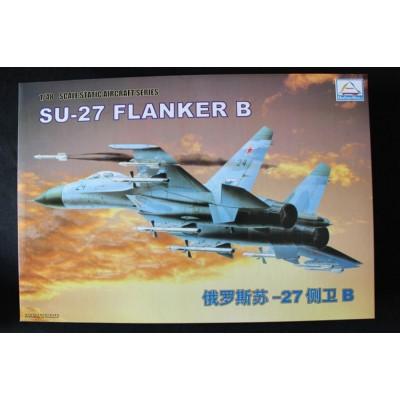 Сборная модель 80305 MiniHobby 1:48 российский истребитель Су-27 Flanker B