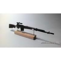 Модель винтовки Токарева СВТ-40