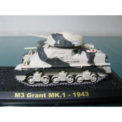 Модель среднего танка M3 Grant
