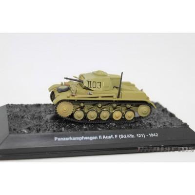 Модель лёгкого танка PzKpfW. II Ausf. F