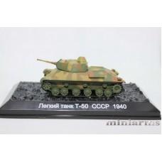 Модель лёгкого танка Т-50