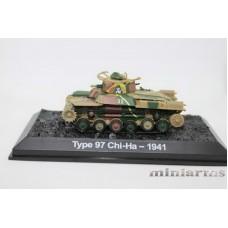 Модель средний танк Type 97 Chi-Ha