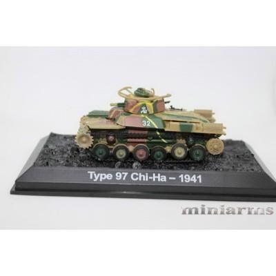 Модель среднего танка Type 97 Chi-Ha