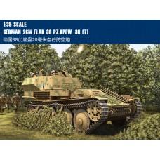 Сборная модель HobbyBoss German 2cm Flak 38 Pz.Kpfw 38(t) (80140) 1:35