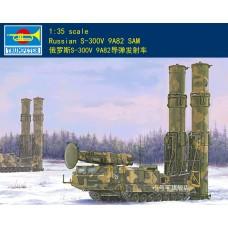 Сборная модель Trumpeter 09518 1/35 российская ракета-носитель С-300В 9А82