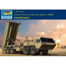 Сборная модель 01054 Американский противоракетный комплекс THAAD 1:35 Trumpeter