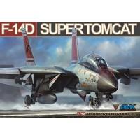 Сборная модель 1:48 AMK 88009 палубный истребитель-перехватчик F-14D Grumman, Super Tomcat