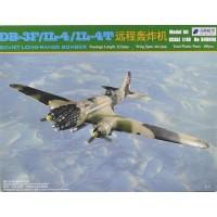 Сборная модель 1:48 Xuntong Model B48005 советский бомбардировщик Ил-4/Ил-4Т/ДБ-3Ф