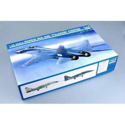 Сборная модель 1:32 Trumpeter 02239 MiG-29K Fulcrum Fighter