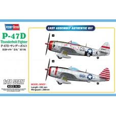 Сборная модель 1:48 Hobby Boss 85811 истребитель P-47D Thunderbolt