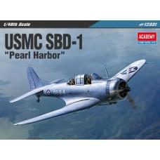 "Сборная модель 1/48 Academy 12331 SBD-1 Dauntless ""Pearl Harbor"""