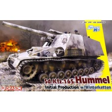 Сборная модель DRAGON 6876 1/35 Sd.Kfz.165 Hummel Initial Production w/Winterketten