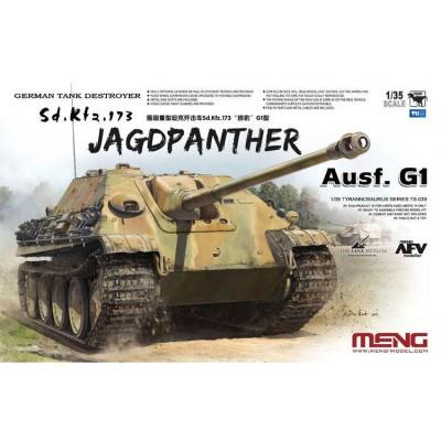 Сборная модель 1:35 MENG TS-039 Немецкая противотанковая САУ Jagdpanther Ausf.G1 (Sd.Kfz.173)