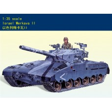 Сборная модель 1:35 Minihobby 80103 Израильский ОБТ Merkava II