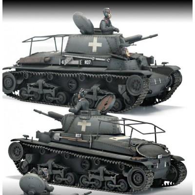 Сборная модель ACADEMY Plastic Model Hobby Kit (1:35) Немецкий командный танк Pz.Kpfw.35(T)