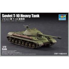 Сборная модель 1:72 Trumpeter 07152 советский тяжелый танк Т-10