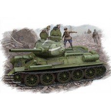 Сборная модель Hobby Boss 84807 1:48 советского среднего танка T-34/85