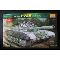 Сборная модель MiniHobbyModels 80117 1:35 Tank Russian T-72B Reactive Armored Car Motor Model Kit