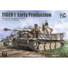 Сборная модель 1:35 BT-010 BORDER MODEL Немецкий тяжёлый танк ТИГР 1 (Tiger I,ранний, Курская битва)