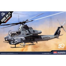 Сборная модель Academy 12127 1:35 Scale US Marine Corps AH-1Z Shark Mouth