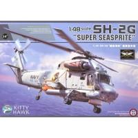 Сборная модель 1/48 Kitty Hawk 80126 многоцелевой вертолет Kaman SH-2G Super Seasprite