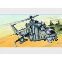 Сборная модель 1/35 Trumpeter 05103 ударный вертолет Миль Ми-24В