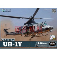 Сборная модель 1:48 Kitty Hawk KH80124 Вертолет Venom UH-1Y